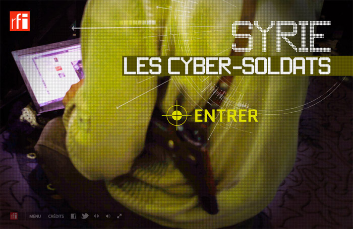 Cyber Soldats Syrie